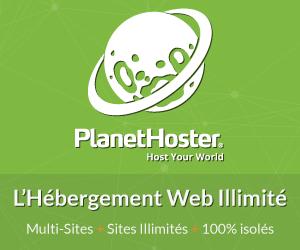 Offres d'hébergement pour votre site internet chez PlanetHoster